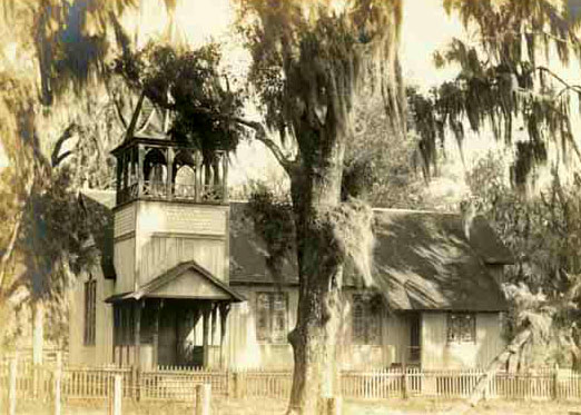 1883 Florida church built from Good Shepherd's plans